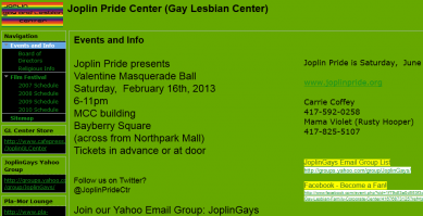 Joplin Gay and Lesbian Center
