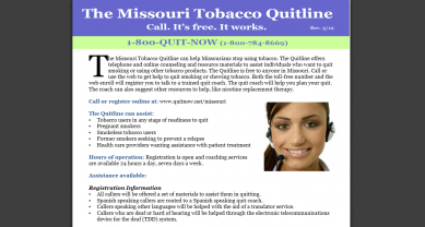 Missouri Tobacco Quitline